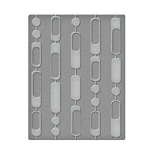 Spellbinders Ses-005 Curtain Beads Embossing Folders