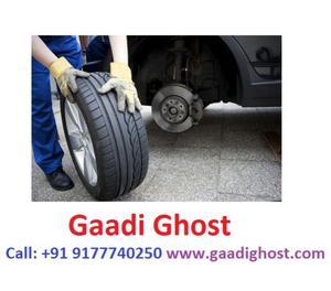 Doorstep Tyre Puncture Shop in Hitech City Madhapur