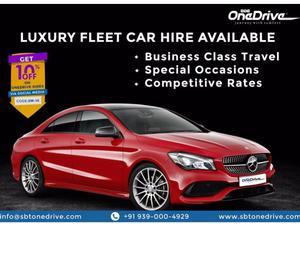 Luxury Car Rental Hyderabad
