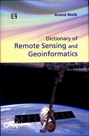 Dictionary of Remote Sensing and Geoinformatics
