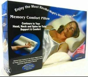 Memory Comfort Foam Pillow Relief for Head, Neck