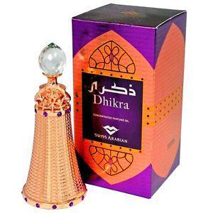 SWISS ARABIAN DHIKRA CONCENTRATED PERFUME OIL ATTAR / ITTAR
