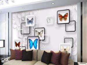 3D full washable wallpapers manufacturer. Visit Fb page HOME