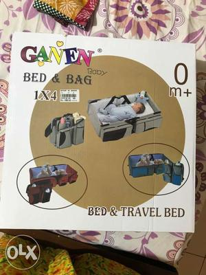 Brand new baby bed and bag, comfortable baby bed