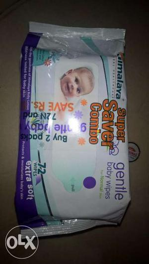 Himalaya Gentle Baby Wipes (Combo Pack)