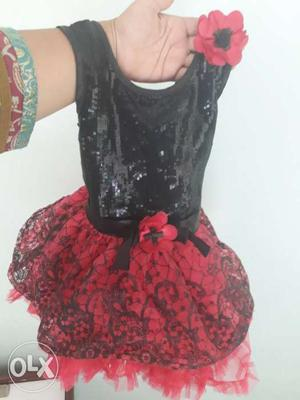 Kid tutu frock as good as new. size 18... age 1.5