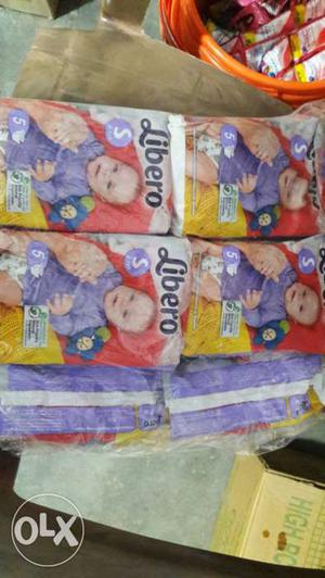 Libero baby diaper Small size S 50peices in rs