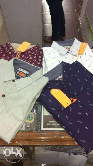 New best quality shirts at ₹350 only, branded