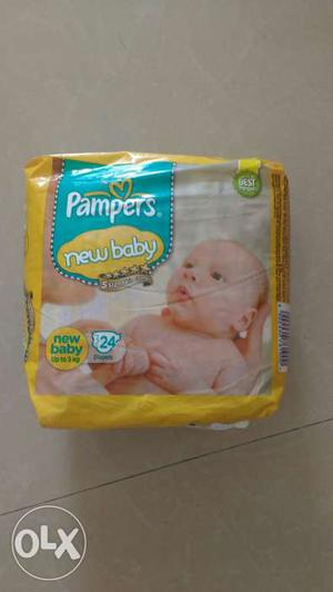 New pack of not used New born Pampers daipers