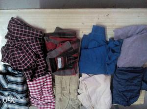 Used Shirts, Pants, T Shirts for sale. Sprangly