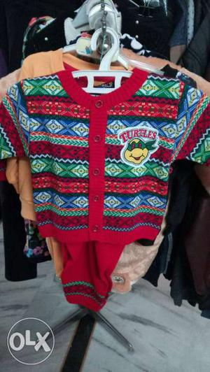 Winter wear set for kids 1 year old. brand new. Fixed price