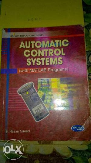 Automatic Control Systems By S. Hasan Saeed