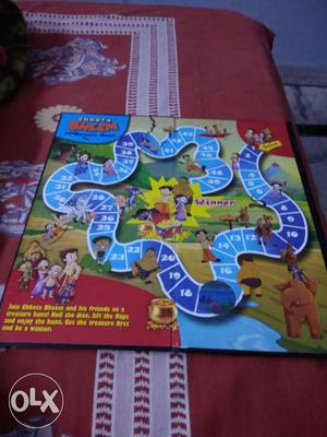 Chota Bheem Treasurer Hunt Board Game