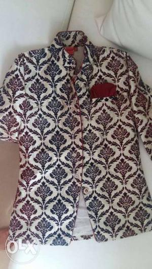 Brand new set of sherwani and pyjama for sale for