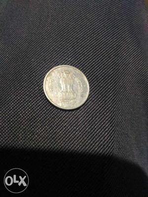 India 10 paise coin
