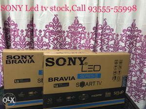 Sony Bravia 32 inch LED Smart TV Box pack