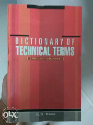 Technical dictionary for engineer eng to guj