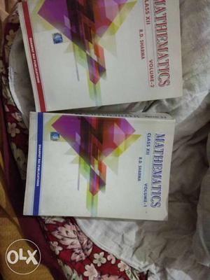 Two Mathematics Volume 1 And 2 Books