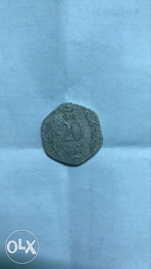 Very old coin from india made in