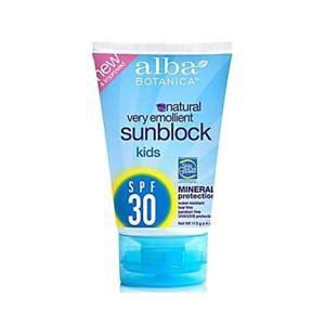 2 Packs of Alba Botanica Very Emollient Natural Sun Block