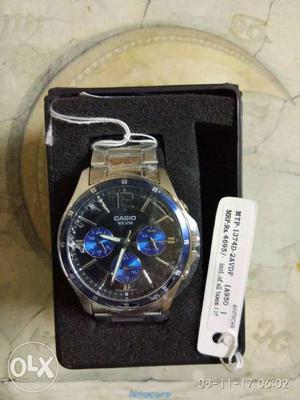 A brand New Casio watch with bill and warranty