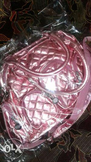 BRANDNEW Imported- Designer Handbag in pinky blush from