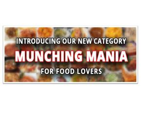 munching starter & snacks home delivery in hyderabad by tmo