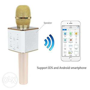 Handheld Wireless Microphone With Wifi Speaker For All