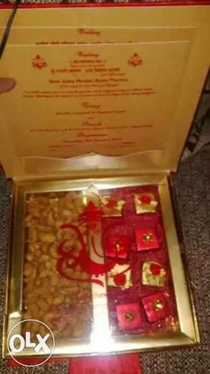 Marriage Dryfruit..homemade chocolate boxes