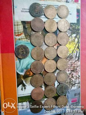One quarter Anna. all coins sale only