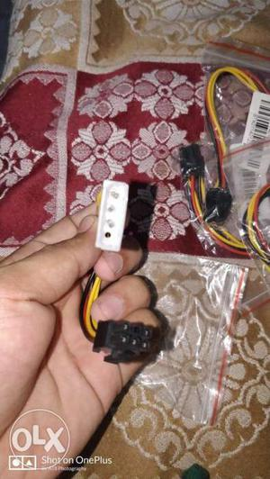 Three pin cable for graphics cards