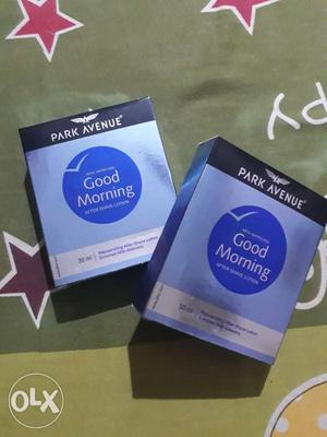 Brand New Park Avenue's Good morning _ After shave lotion