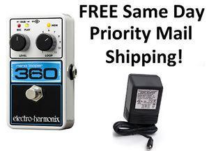 New Electro-Harmon ix EHX Nano Looper 360 Guitar Pedal! In