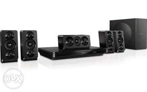 Philips Black Blu-ray 3D 5.1 Home Theater System