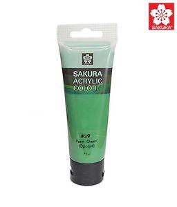 Sakura Acrylic Color Tube - Perm Green (Pack Of 2) -