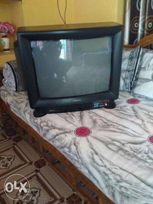 Videocon CRT TV (colour) With Remote Except sound no issues