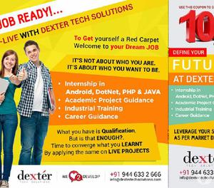 Internship in Android, DotNet, PHP & JAVA