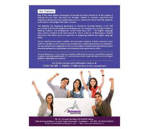 AVENUE RESOURCES - ACADEMY FOR ENGLISH LANGUAGE SKILLS