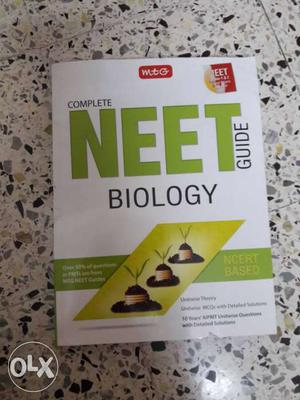 Complete Neet Guide Biology Textbook and mtg questionbank