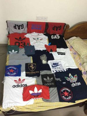 Factory outlet export quality all types of t shirts
