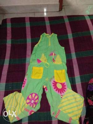 Jump suit for age 5 to 6 years kids..... in a