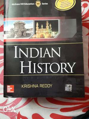 This book is a new book.Indian History by Krishna