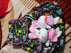 Brand new womens back pack, funky not used..