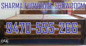 High Quality King Size Box Bed only at SHARMA FURNITURE