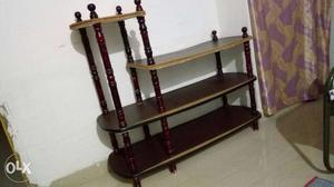 TV stand for low cost, wooden and in good