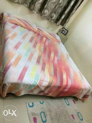 Wooden short beds with two Cotton mattress