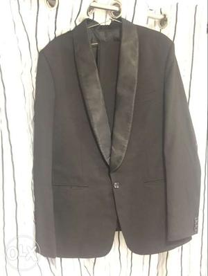 Black tuxedo (blazer and pant only) size - L,