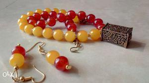 Necklace sets, used with traditional clothing and