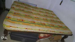 6*6 double ded with recron original mattress.