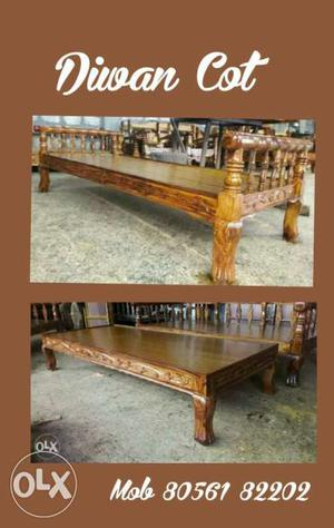 Trivandrum furniture teak wood only used diwan cot for  : New Teak wood carving Diwan cot 6 x 2 6 Rs 20171228094917 from class.posot.in size 443 x 700 jpeg 33kB